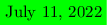 <math> %\begin{tikzpicture} \colorbox{green}{\today}  %. </math>