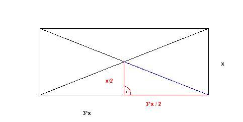 mp trigonometrie rechteck diagonale berechnen forum matroids matheplanet. Black Bedroom Furniture Sets. Home Design Ideas