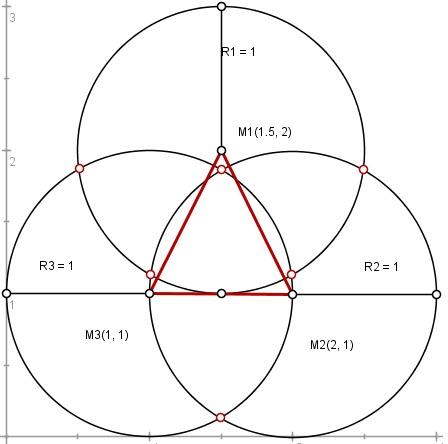 mp schnittpunkt mehrerer kreise berechnen forum matroids matheplanet. Black Bedroom Furniture Sets. Home Design Ideas